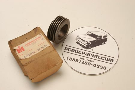 Gear transmission - new old stock