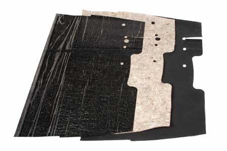 Sound Deadener, Carpet & Mat Set for Column Shift KB1-KB5