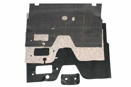 Floor Mat, Sound Deadener, and Pad for Floor Shift L, R & S Series