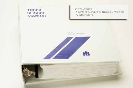 International Travelall Truck Service Manual Volume 1 Used