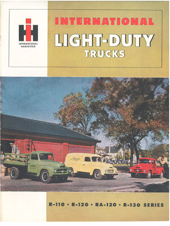 1953 R-Series Light Duty Truck Color Brochure