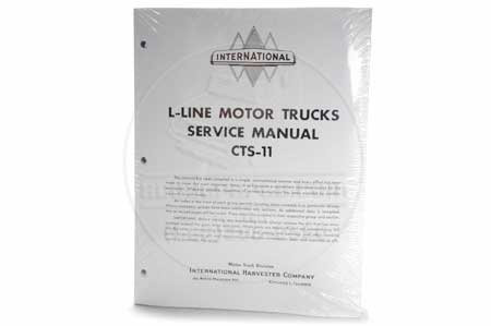 Service Manual (593 pgs) 1950-1952 IH Truck (L Line)