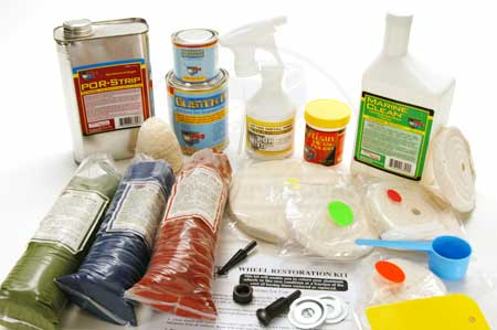 POR-15 Wheel Polishing Kit