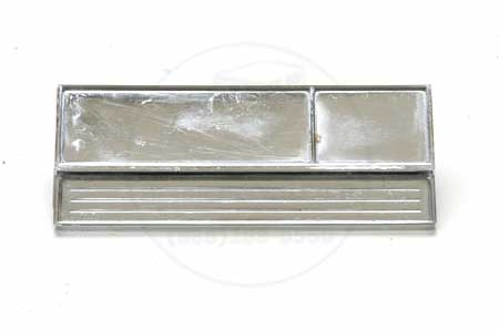 Chrome Model Plate, 72-75 IH Pickup & Travelall