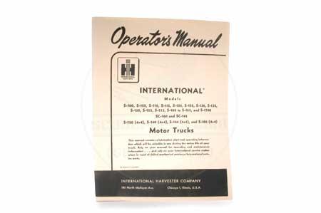 S-Line Operators Manual
