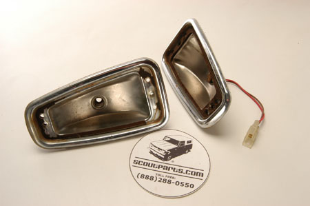 Tail light housing USED