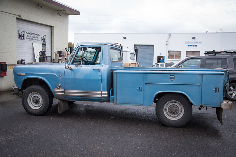 International 1970 1200 pickup Truck for Sale - 65K original miles.