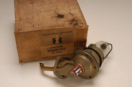 Pickup Non Vacuum Glass Bowl Fuel Pump!
