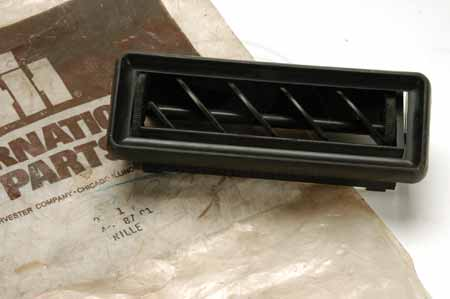Air Duct Grille - International Harvester  - New Old Stock