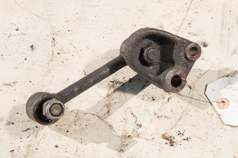 Left Engine Mount - used