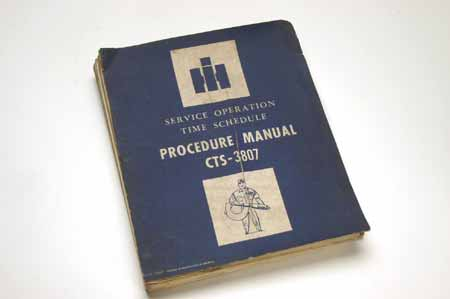Procedure Manual 100/200/500 Series Trucks, CTS-3807