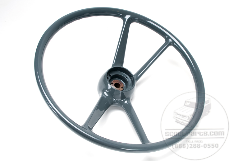 IH Steering Wheel - restored and better than new, old stock