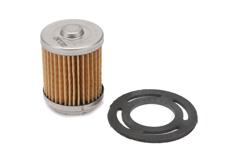 Fuel Filter, Small Glass Bowl Type for Early Scouts & Trucks.