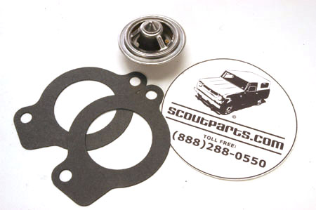 Thermostat And Gaskets For Pickup And Travelall