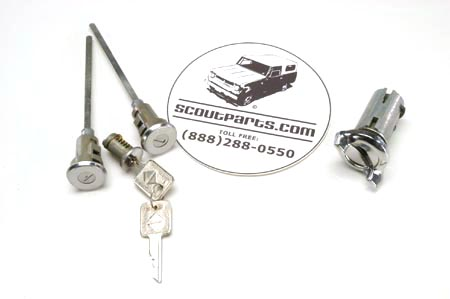 Lock Set For 72 To 75 Trucks & Travelalls