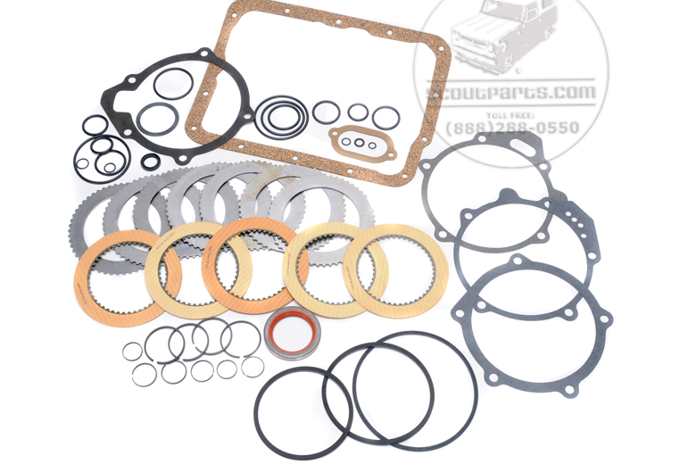 T-39 automatic transmission rebuild kit. - 1968 Borg Warner transmission.