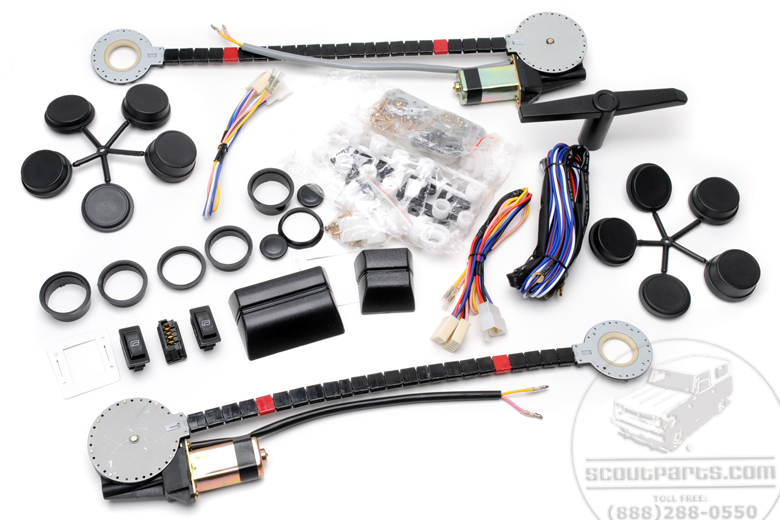 Power Windows Kit - Two Window Kit