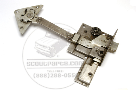 Door Lock/ Latch Assembly New Old Stock Left(driver Side)