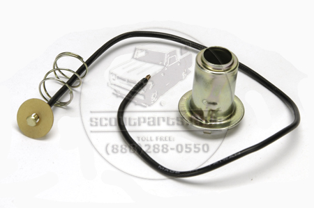 Light Socket Repair Kit- Single Contact Pig Tail And Socket