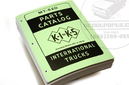 Parts Manual Catalog K/KB 1-5 1939 -49