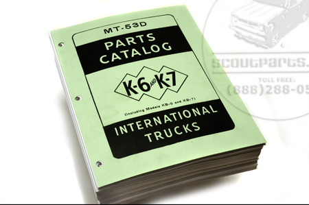 Parts Catalog K/KB 6-7