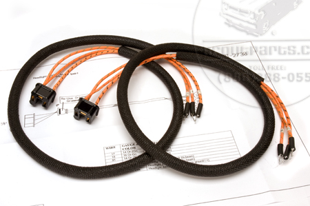 Wiring Harness, 1947-49 Model KB-4 And KB-5 Headlight Bucket Wires