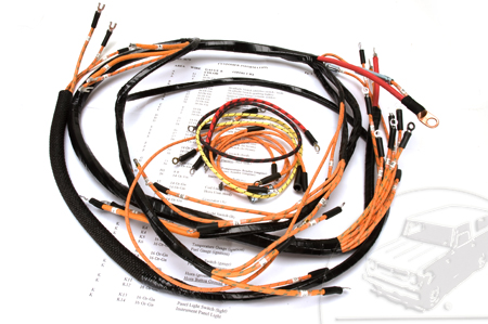 Wiring Harness, 1946 Model K-1, K-2, and K-3 Dash, Engine and Headlight Harness