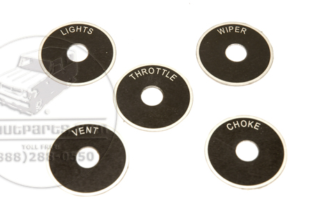 Indicator Placards or Plate Kit For C Series