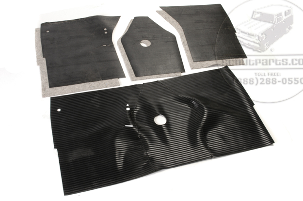 Floor Mat, Sound Deadener, And Pad A & B Series Trucks & Travelall