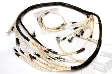 WIring Harness, 1950-1952 Model L-110 And L112 Dash To Circut Breaker Panel