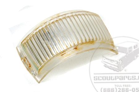 Plate Light Lens (for External Tail Light Housing) USED