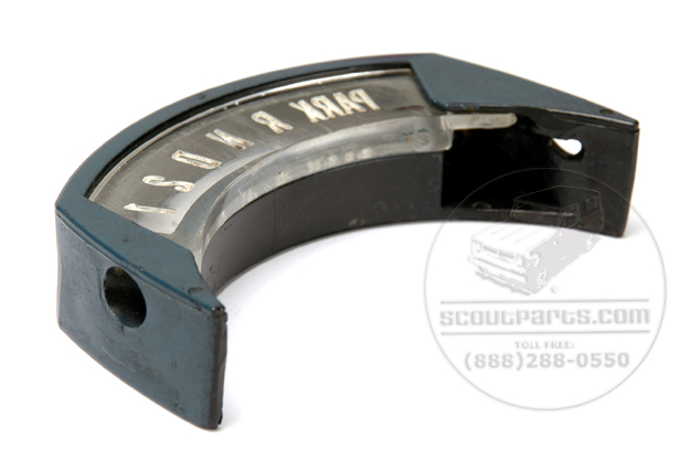 Shift Indicator Plate (column shift) - new old stock