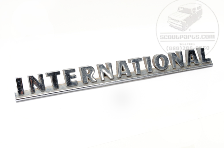 International Emblems  - Big Truck