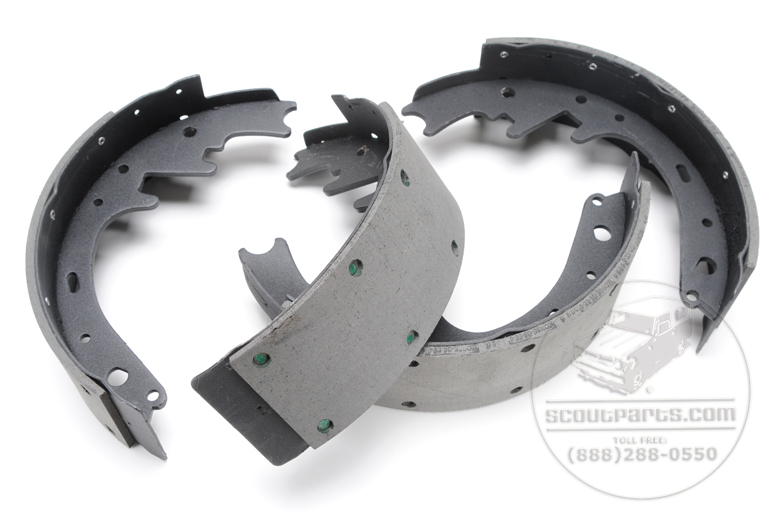Front Brake Shoes 11x3