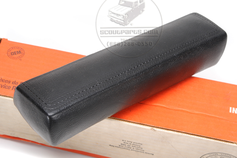 Arm Rest Front Doors Black New Old Stock