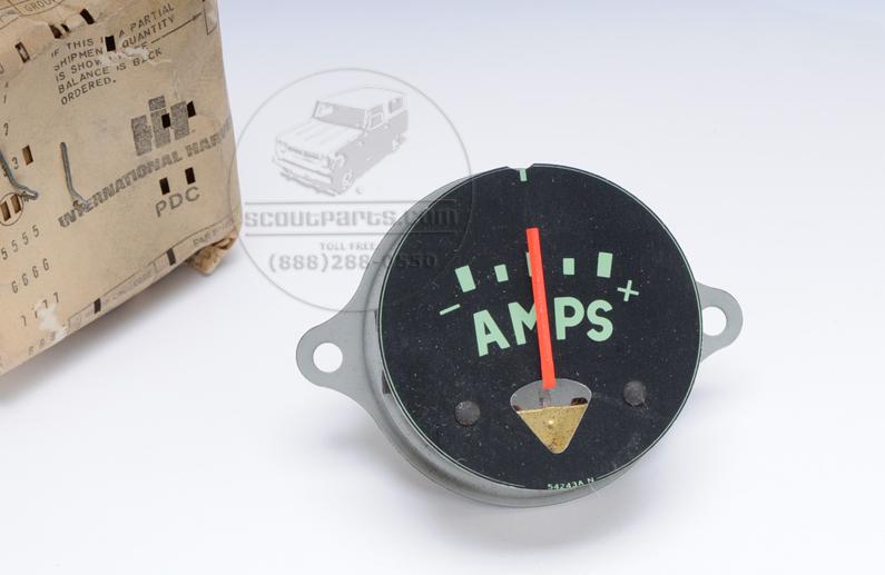 Amp gauge - R & S model trucks - New old stock