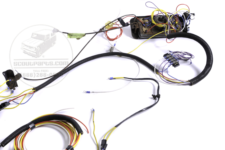 [TBQL_4184]  International Pickup & Travelall Parts.com | International Scout Wiring Harness |  | International Pickup & Travelall Parts.com