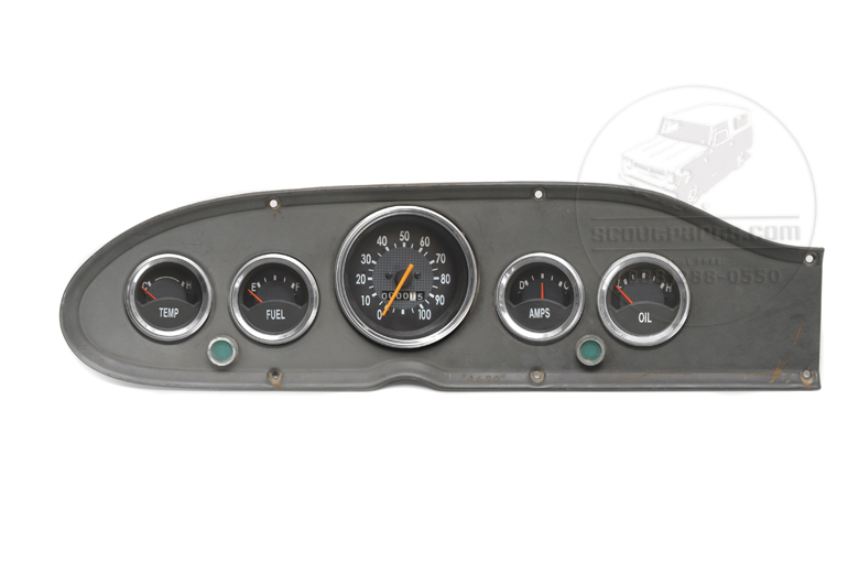 Dashboard - 5 Gauge Set Kit - Brand New/Reproduction,  Limited Edition