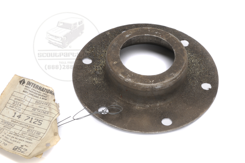 Axle Seal Retainer - New Old Stock