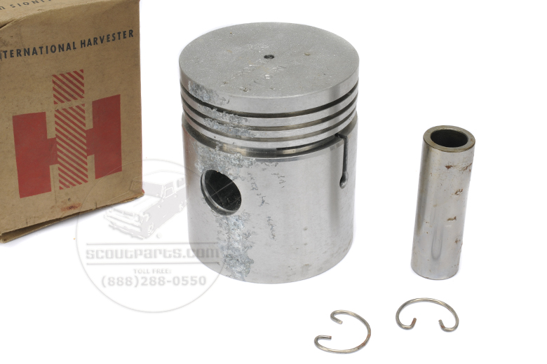 Piston with Pin and Retainers
