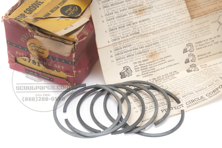Piston Ring Set - complete - NEW OLD STOCK