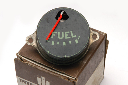 Gauge, Fuel, Green Lettering, New Old Stock - R,S, model truck