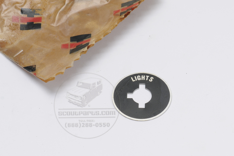 Decal - Head lights- New old stock