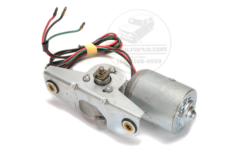Wiper motor 6 Volt - New old stock