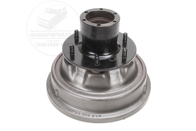 Brake Drum Rear - 6 lug- 3/4 ton trucks and travelalls
