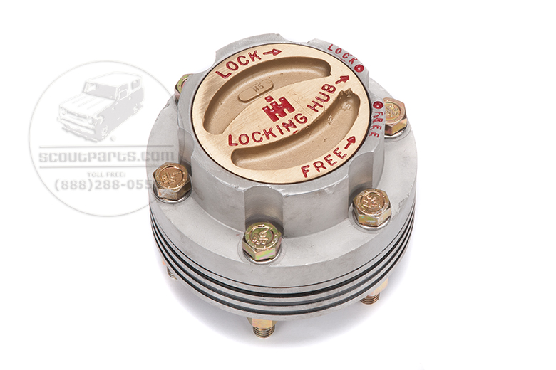 Hub locking for 3/4 ton FA-15 front axles with 4x4
