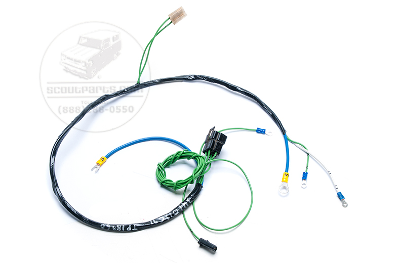 Wiring Harness - Wiring For Starter And Fuel Level Gauge