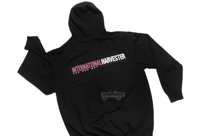 IH Logo Black Zip-Up Hoodie