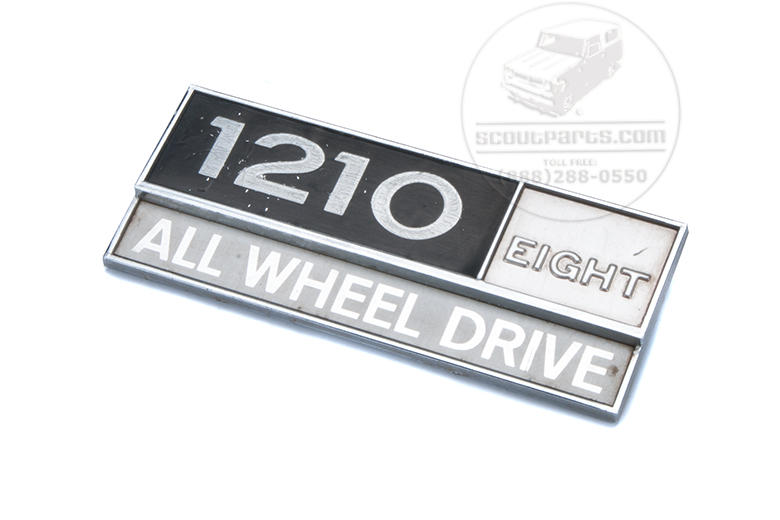 1210 All wheel Drive Emblem