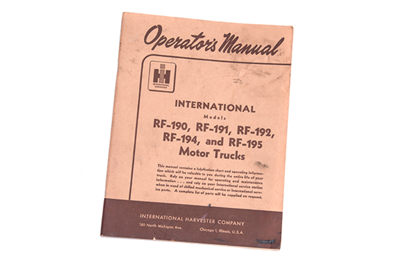 Operators Manual R series